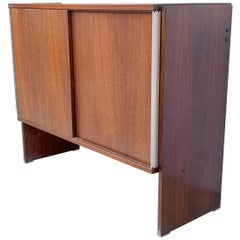 Ico Parisi, for MIM Rome, Sideboard with Sliding Door, Italy, 1960s
