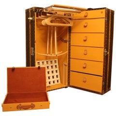 1930s Louis Vuitton Wardrobe Trunk