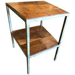 Custom Designed Trapezoid Occasional Table