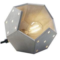 Basic Twelve Solo Concrete Table Lamp by Plato Design