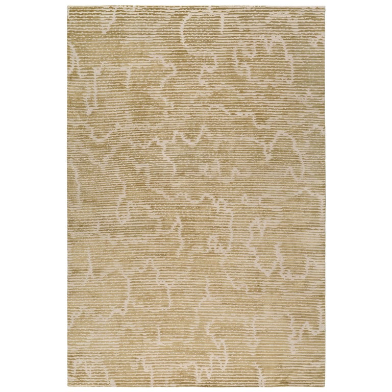 Staccato Hand Knotted 10x8 Rug in Wool and Silk by Kelly Wearstler For Sale