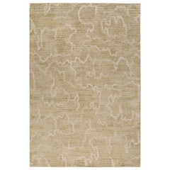 Staccato Hand-Knotted 9x6 Rug in Wool and Silk by Kelly Wearstler