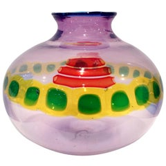 "Anzolo Fuga ""Murrine Incatenate"" Vase for A.V.E.M, 1960"