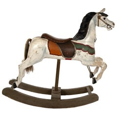 French Carousel Rocking Horse, circa 1885