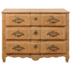 18th Century French Wood Chest of Drawers