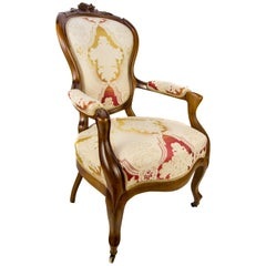 19th Century French Louis Philippe Style Armchair