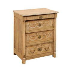 French 19th Century Lift-Top Commode with Drawer