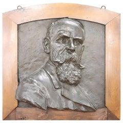 20th Century Italian Sculpture in Bronze Portrait of a Gentleman
