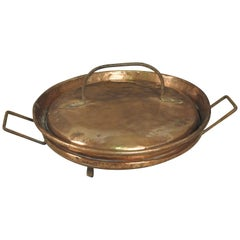 French 18th Century Copperware, Tortiere