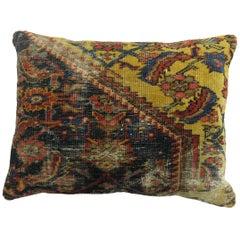 Persian Distressed Rug Pillow