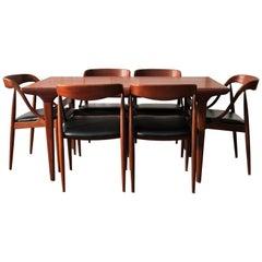 Mid-Century Modern Dining Room Set Johannes Andersen