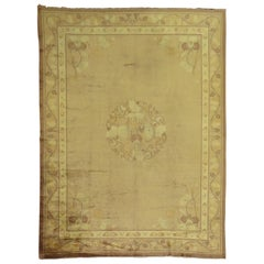 Pale Antique Chinese Rug