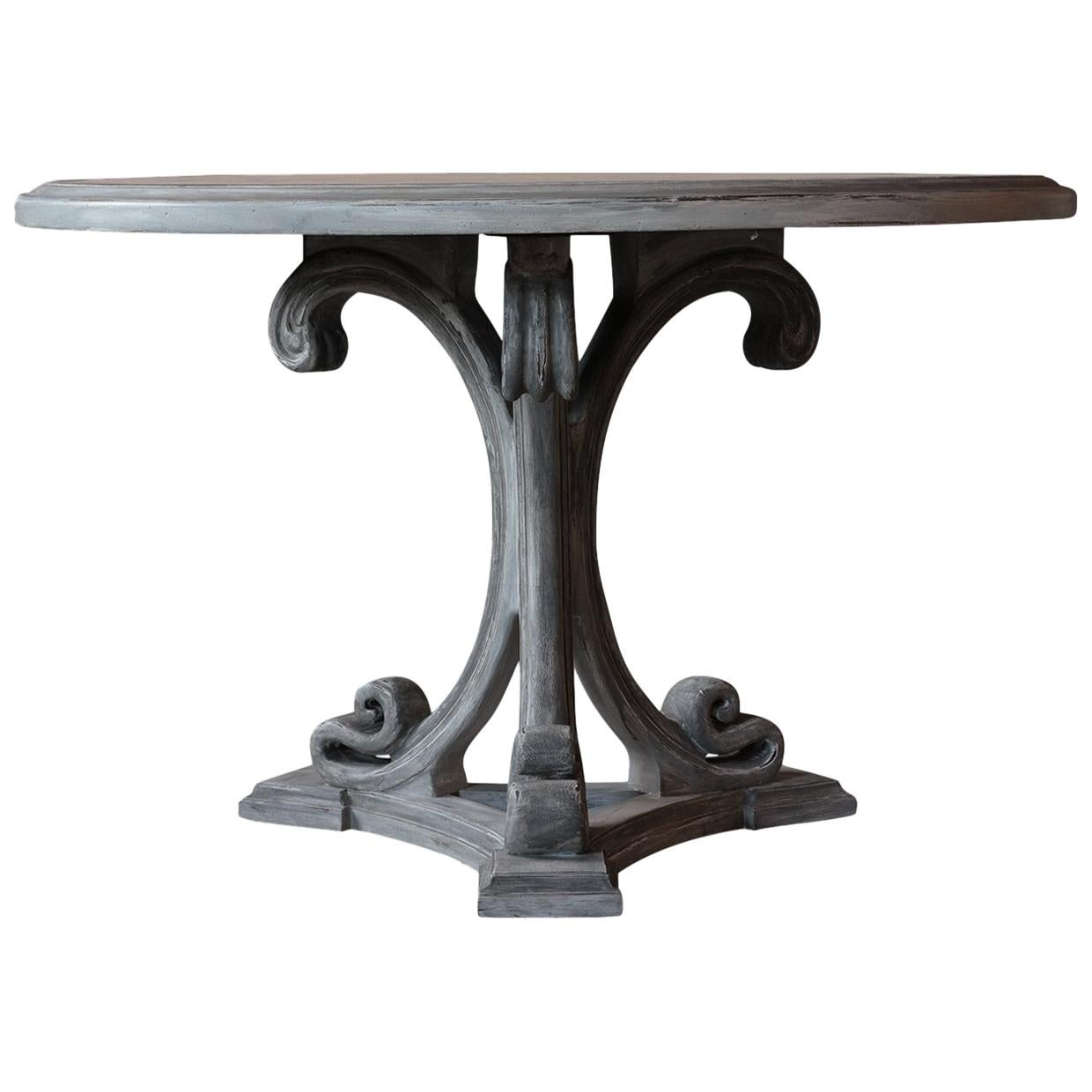 Painted Regency Center Table