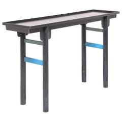 Jim Rose Steel Ming Shanxi Console Table