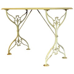 Cast Iron Garden Bistro Cafe Table