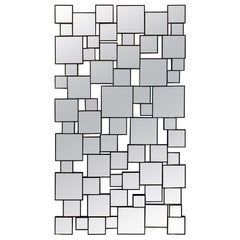 Striking Contemporary Extra Large Multi Mirror by Christopher Guy