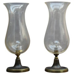 Pair of Fine Italian Mid-Century Table Lamps by Seguso