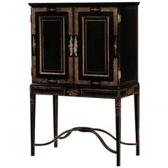 George III Lacquered Drinks Cabinets