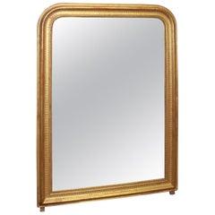 French Louis-Philippe Period Gilt Mirror