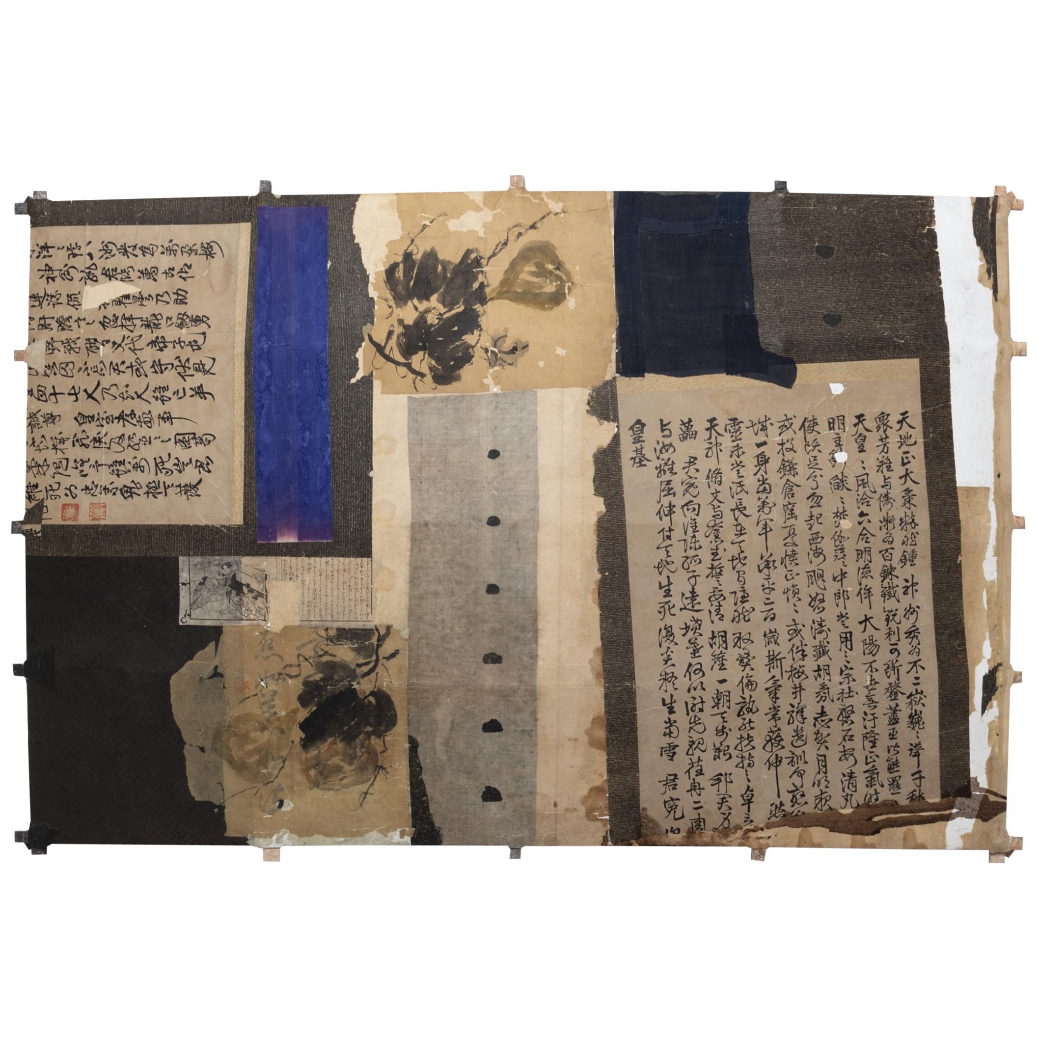 """Blue Print Blue"" Kite by Michael Thompson"