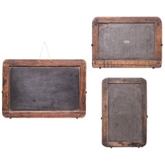 Set of Three Vintage Chinese School House Slate Boards