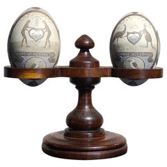 Colonial Australian Emu Eggs, Aborigines, Animals, Melbourne Cup Winner 1935 ect