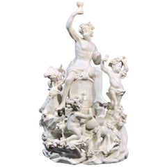 Tournai 'Bacchus' Figure Group, Multi-Figures and a Large Barrel, Tournai