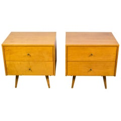 Pair of Planner Group Nightstands by Paul McCobb for Winchendon Furniture