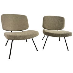CM190 Slipper Chairs by Pierre Paulin