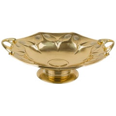 Floral Jugendstil Fruit Bowl, circa 1908