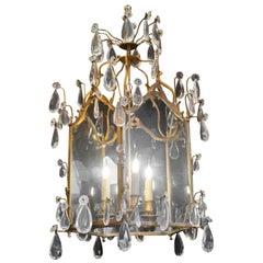 Lantern Transition Louis XV-Louis XVI, 3 Lights