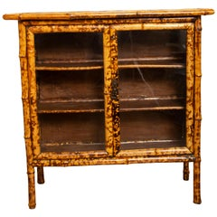 Antique Tortoise Bamboo Cabinet