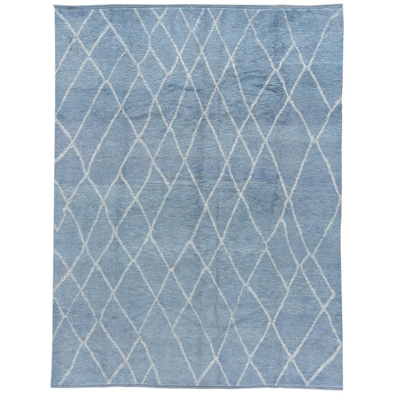 Moroccan-style rug, 2018, offered by Apadana Fine Rugs