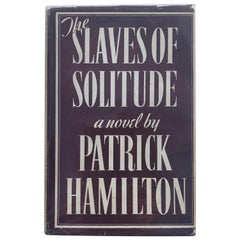 Patrick Hamilton, The Slaves of Solitude, First Edition Book