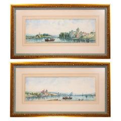 """""""Coastal Scenes"""" Original Paintings by Alfred H. Vickers"""