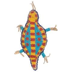 Sioux Indianer Perlen Schildkröte Fetisch