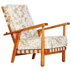 Vintage Easy Chair by Jan Vanek for Krásná Jizba, 1950s