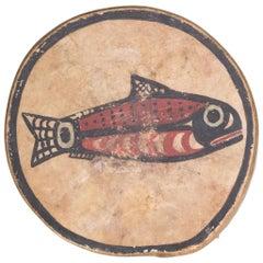Salmon Nootka Native American Hand Drum