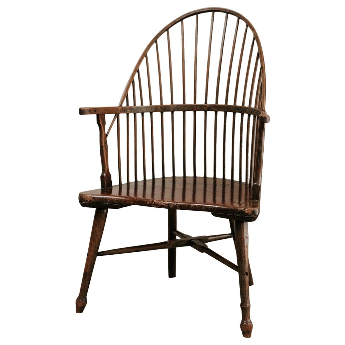 18th Century Stickback Windsor Chair