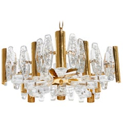 Chandelier by Carl Fagerlund for Orrefors Glassworks