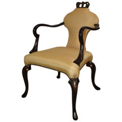 Baker Queen Anne Armchair Stately Homes Collection 5139
