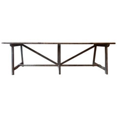 18th Century Trastle Table