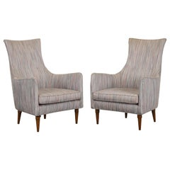 Pair of Paul McCobb Style Armchairs, 1960s
