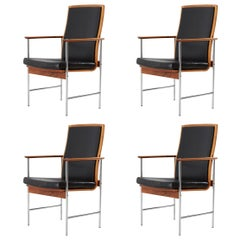 Set of Four Finnish Armchairs
