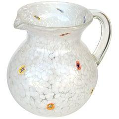Murano Millefiori Water Vessel
