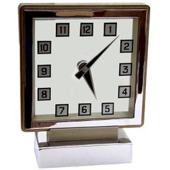 Sehr seltene englische Smiths 'Mystery Clock', 1930er Jahre Art Deco