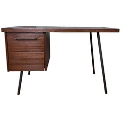 Don Knorr for Vista of California Ribbon Mahogany Two-Drawer Desk