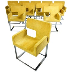 """Postmodern """"Elle"""" Armchairs Designed by Luca Scacchetti for Domodinamica"""