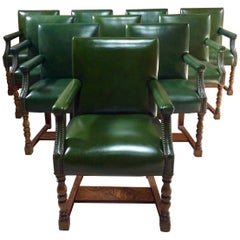 Howard & Sons Armchair Boardroom Dining Library Gainsborough Chair