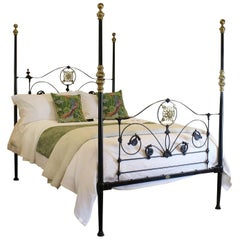 Four-Poster Bed in Black, M4P26